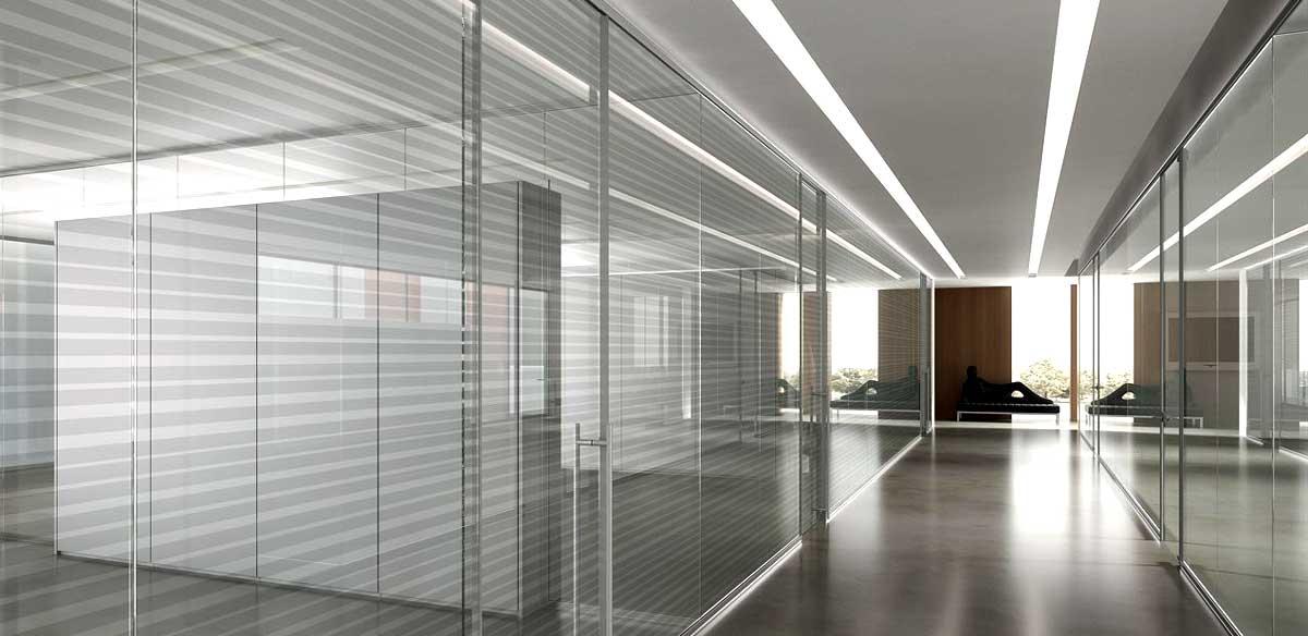 Pareti divisorie ufficio | Vetro | Ufficiostile