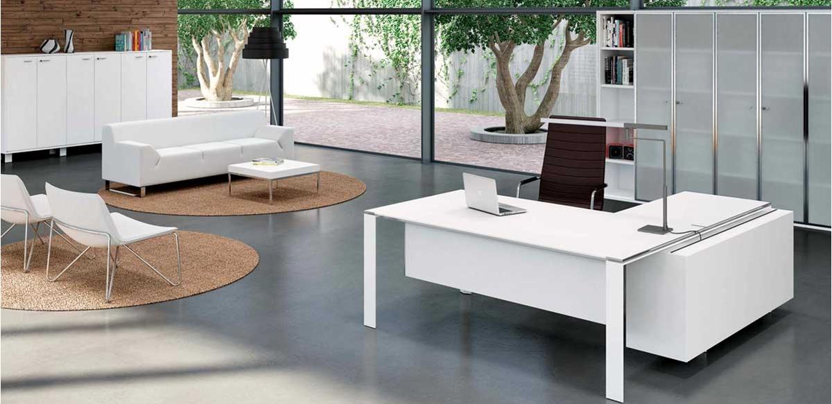 Mobili per ufficio - Ambientazioni Arredi ufficio bianchi