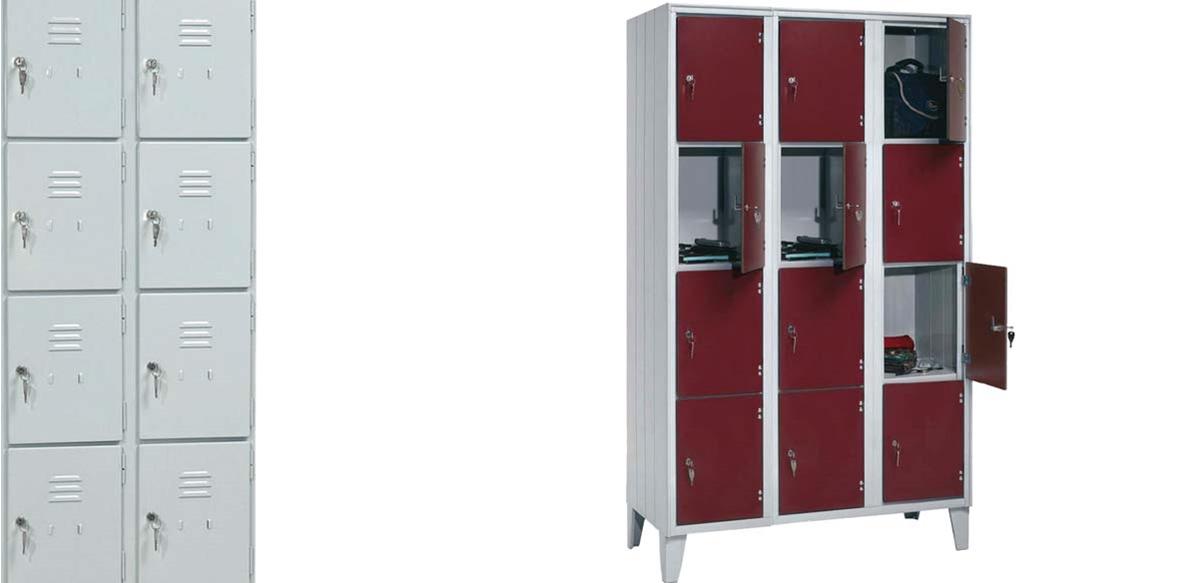 Mobili per ufficio armadio casellario in metallo 12 for Armadietti ufficio