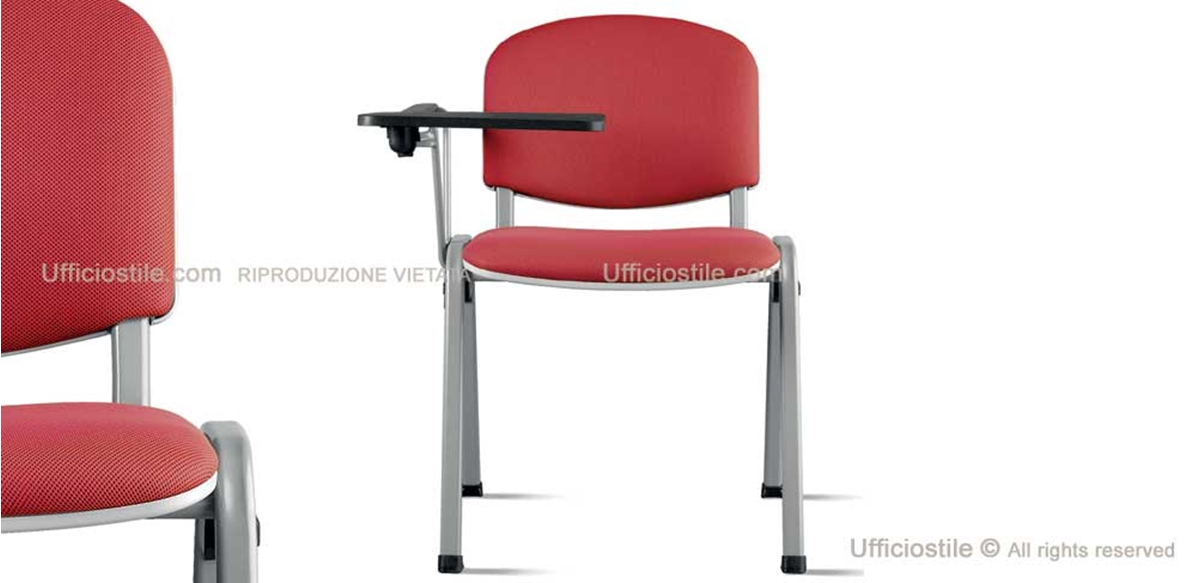 Mobili per ufficio - Sedia con bracciolo acciaio e scrittoio con ...