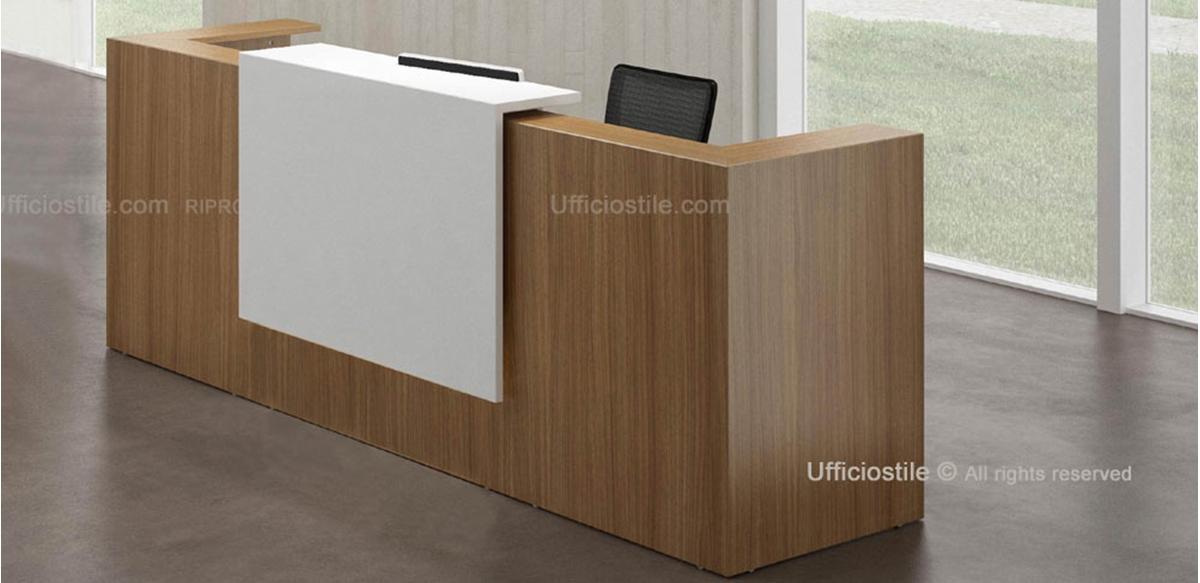 Mobili per ufficio reception modulare cm 285 for Dimensioni mobili ufficio