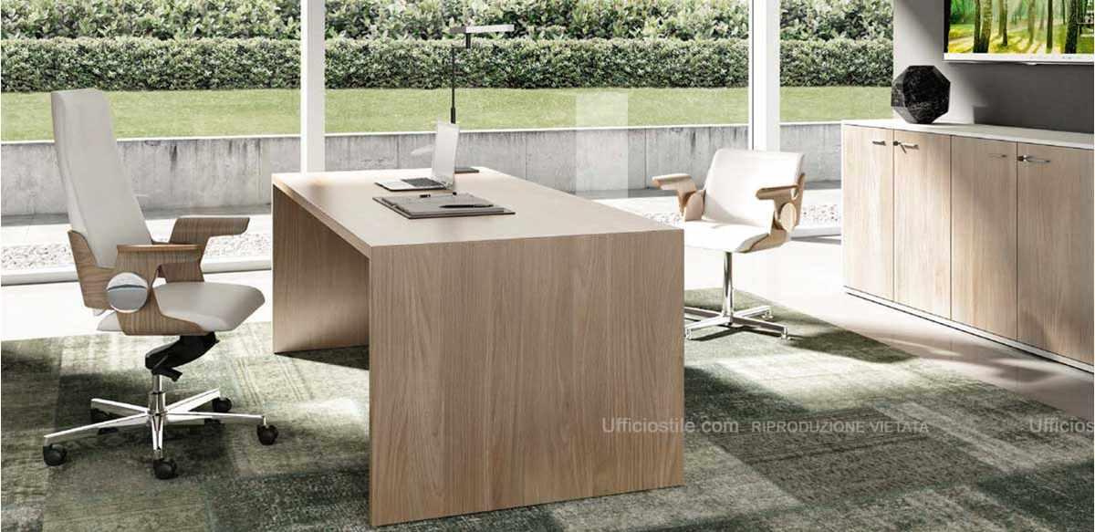 Mobili per ufficio scrivania direzionale e libreria for Scrivania direzionale prezzi