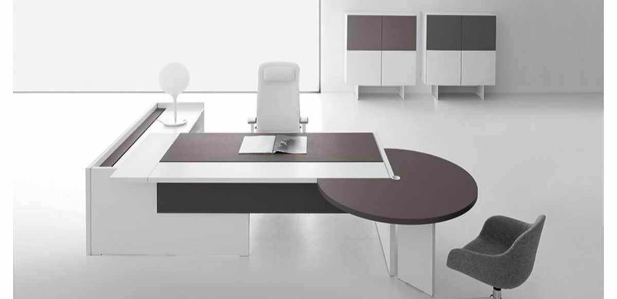 Mobili per ufficio - Scrivania con piano sliding, penisola ...