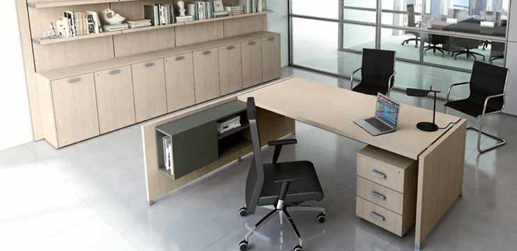 Mobili ufficio direzionali collezione ufficiostile 250 for Scrivania direzionale prezzi