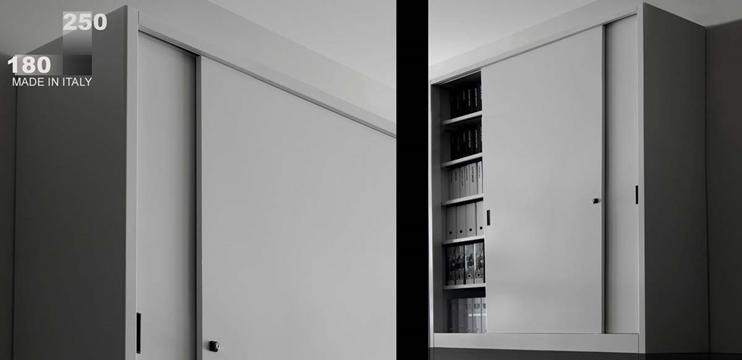 Mobili per ufficio - Armadio metallo cm. 150 x 45 x 200(H)