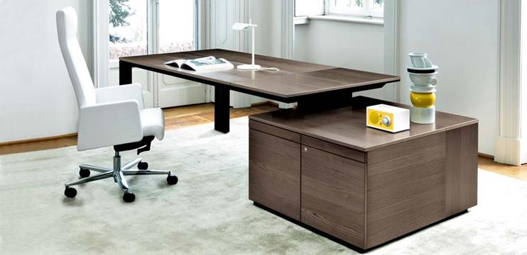 Mobili per ufficio tavolo riunioni cm 320 con piani for Piani scrivania stile artigiano